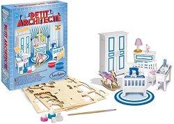 """Сглоби и оцвети моята спалня - Творчески комплект от серията """"Малкият архитект"""" -"""