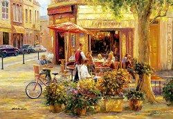 Кафене на ъгъла - пъзел