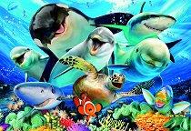 Подводно селфи -