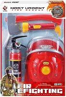 Пожарникарски принадлежности - Детски комплект за игра -