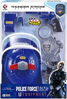 Полицейски принадлежности - Детски комплект за игра - творчески комплект