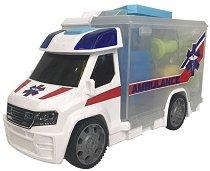 Линейка - куфарче с лекарски принадлежности - Детска играчка със звуков и светлинен ефект -