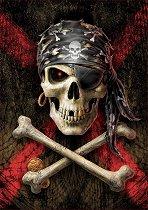 Пиратски череп -