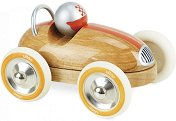 Ретро количка - Детска дървена играчка -