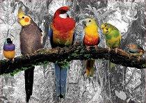 Птици в джунглата - пъзел