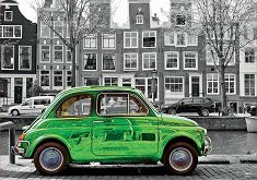 Кола в Амстердам -