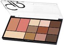 Golden Rose City Style Face & Eye Palette - Палитра с грим за лице и очи - продукт