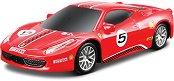 """Състезателна кола - Ferrari 458 Challenge - От серията """"Ferrari Race & Play"""" - макет"""