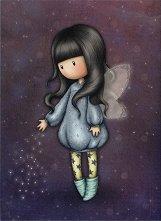 """Поздравителна картичка - Bubble Fairy - От серията """"Gorjuss"""" -"""