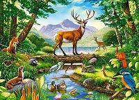 """Горски животни - Пъзел от серията """"Castorland: Premium"""" : Крис Хайет (Chris Hiett) - пъзел"""
