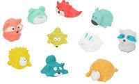 Животни - Комплект от 10 играчки за баня -