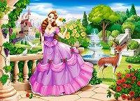 """Принцеса в кралската градина - Пъзел от серията """"Castorland: Premium"""" - пъзел"""