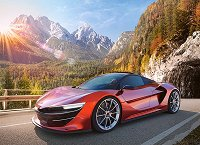 """Спортен автомобил - Пъзел от серията """"Castorland: Premium"""" -"""