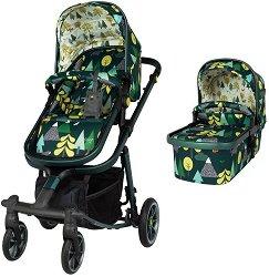 Бебешка количка 2 в 1 - Giggle Quad -