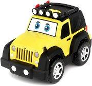 """Количка - Jeep Wrangler - Детска играчка със светлинни и звукови ефекти от серията """"Junior"""" -"""