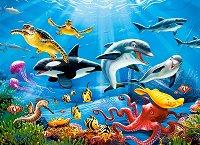 """Тропически подводен свят - Пъзел от серията """"Castorland: Premium"""" - пъзел"""
