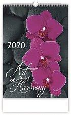 Стенен календар - Art of Harmony 2020 -