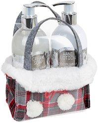 Vivian Gray Silver Christmas - Подаръчен комплект с козметика за ръце - душ гел