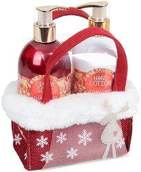 Vivian Gray Red Christmas - Подаръчен комплект с козметика за ръце - продукт