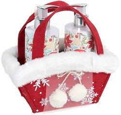Vivian Gray White Christmas - Подаръчен комплект с козметика за ръце -