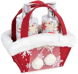 Vivian Gray White Christmas - Подаръчен комплект с козметика за ръце - крем