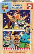 """Играта на играчките 4 - 2 пъзела с дървени елементи от серията """"Играта на играчките"""" -"""