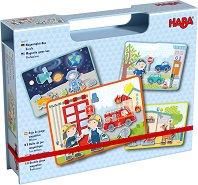 Професии - Детски образователен комплект със 77 магнита - играчка