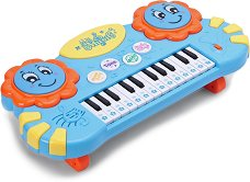 Пиано с барабани - Детски музикален инструмент -