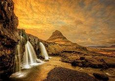 Водопадът Киркюфелсфос, Исландия - пъзел