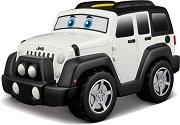 """Количка - Jeep Wrangler - Детска играчка със звукови ефекти от серията """"Junior"""" -"""