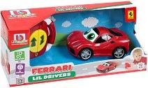 """Кола с дистанционно управление - Ferrari - От серията """"Junior"""" -"""