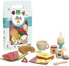 Моята закуска - Детски комплект за игра от дърво -