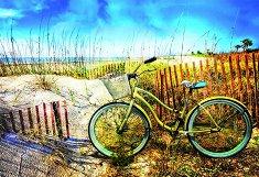 Велосипед на дюните - пъзел