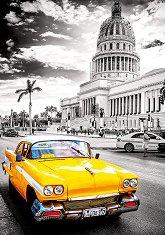 """Такси в Хавана, Куба - От колекцията """"Black and White"""" -"""