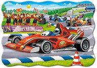 Автомобилно състезание - пъзел
