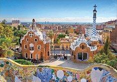 Изглед към парк Гуел, Барселона -