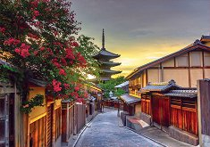 Пагода Ясака, Киото, Япония - пъзел