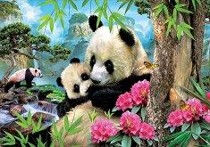 Семейство панди - пъзел
