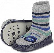 Детски чорапи с кожено стъпало -