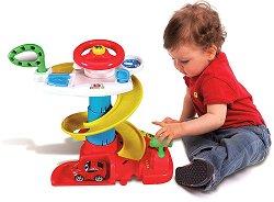 """Писта - Ferrari - Детски игрален комплект от серията """"Junior"""" - количка"""