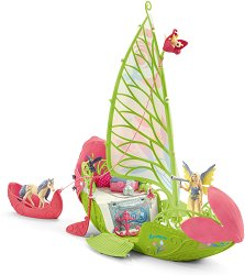 """Магическата цветна лодка на Зера - Комплект фигури и аксесоари от серията """"Илорис"""" -"""