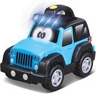 """Количка - Jeep Wrangler - Детска количка със светлинни и звукови ефекти от серията """"Junior"""" - играчка"""
