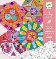 Оцвети картини изненада - Mandalas - Творчески комплект -