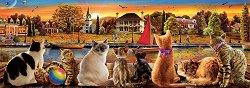 Котета на кея - панорама - пъзел