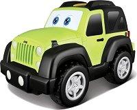 """Детска количка - Jeep Wrangler - Играчка със звукови и светлинни ефекти от серията """"Junior"""" - играчка"""