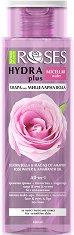 """Nature of Agiva Roses Hydra Plus Micellar Water - Мицеларна вода за чувствителна кожа от серията """"Roses"""" - душ гел"""