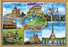 Емблематични забележителности на Европа -