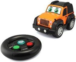 Джип с дистанционно управление - Jeep Wrangler - играчка