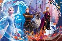 """Ледена магия - От серията """"Замръзналото кралство 2"""" - пъзел"""