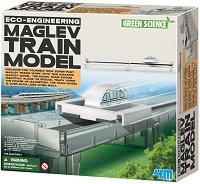"""Влак Maglev - Детски образователен комплект """"Green Science"""" -"""